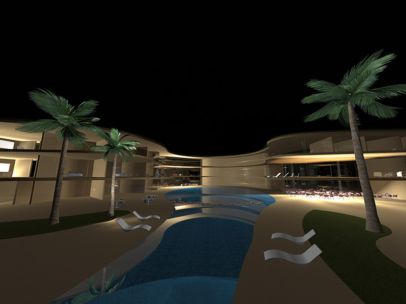 Ciel Rouge Création - Architecture - Actualité - Hotel et centre de Thalassothérapie à Sidi Ghiles en Algérie