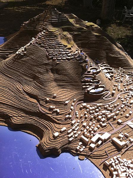 Ciel Rouge Création - Architecture - Projet pour un urbanisme paysager à énergie positive au Montenegro