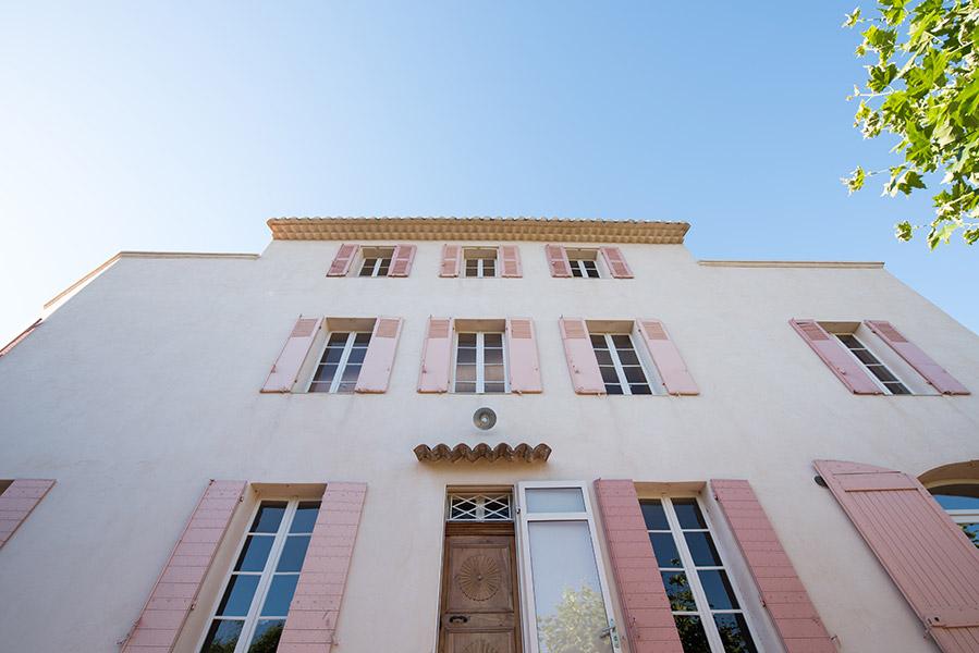 Ciel Rouge Création - Henri Gueydan architecte - Restructuration d'une Bastide à Marseille