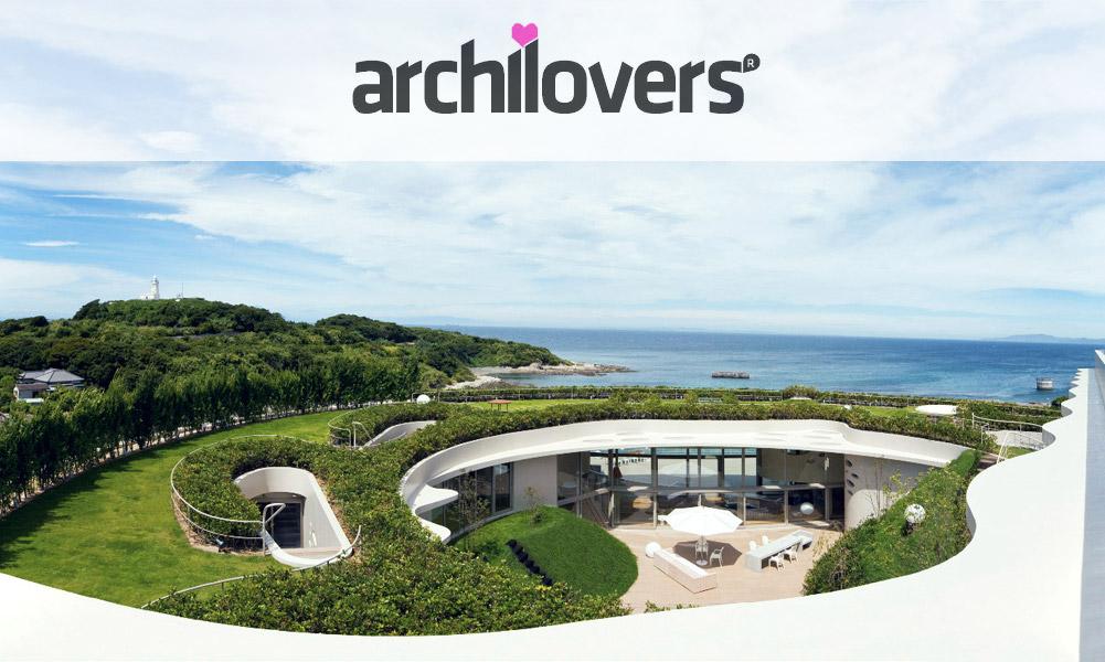 Ciel Rouge Création - Architecture - Henri Geydan - Publication internet sur archilovers.com: Villa ronde bioclimatique à Chiba - Japon