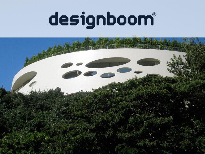 Ciel Rouge Création - Architecture - Henri Geydan - Publication internet sur designboom.com: Villa ronde bioclimatique à Chiba - Japon