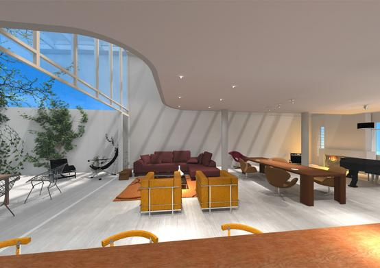 Ciel Rouge Creation - News - House in Marseille