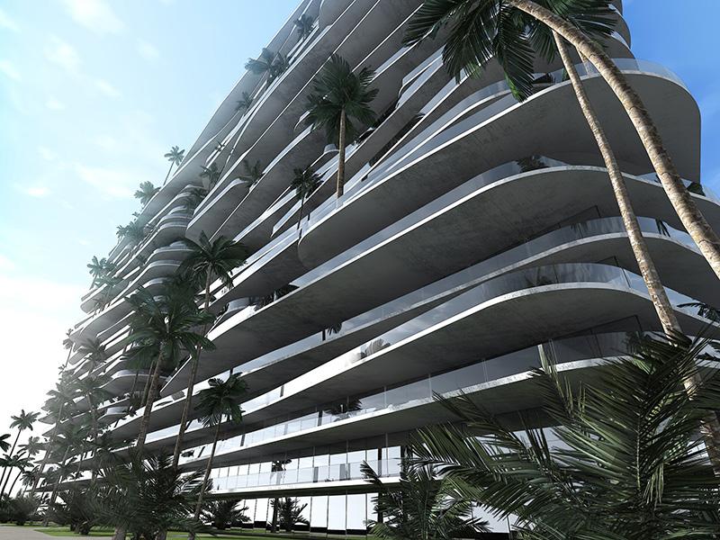 Ciel Rouge Création - Architecture - Actualité - Immeuble d'appartements de luxe a Abu Dhabi