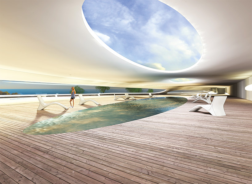 Ciel Rouge Creation - Architecture - News - Hotel and seawater therapy center in Algéria