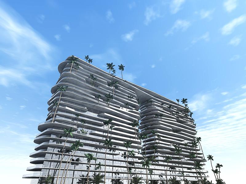 Ciel Rouge Création - Architecture - Projet - Immeuble d'appartements de luxe a Abu Dhabi