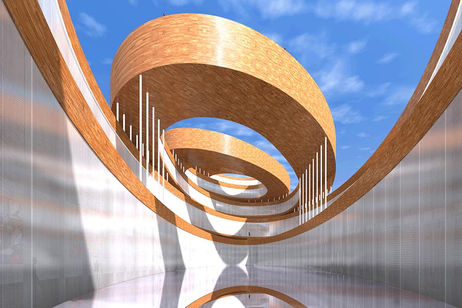 Ciel Rouge Création - Architecture - Projet musée Guggenheim - Helsinki - Finlande