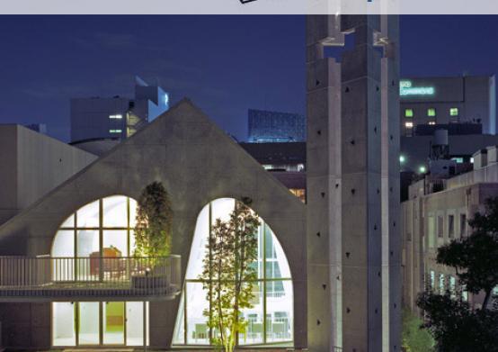 Ciel Rouge Création - Architecture - Henri Geydan - Publication internet sur archdaily.com: Temple protestant à Tokyo - Japon