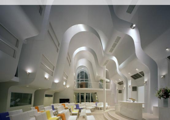 Ciel Rouge Creation - Architecture - Henri Geydan - Internet publication on archello.com: Harajuku church - Japan